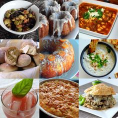 all the wonderful recipes