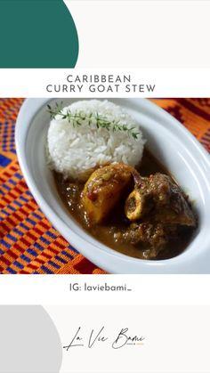 Goat Stew Recipe, Curried Goat Recipe, Oxtail Recipes, Jamaican Recipes, Caribbean Food, Caribbean Recipes, Goat Recipes, Dinner Recipes, Jamaican Curry Powder