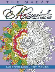 Cosmic Mandala Coloring Book For Adults Children Sacred