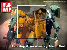 Painting and Weathering Simplified |DC23-mecharts