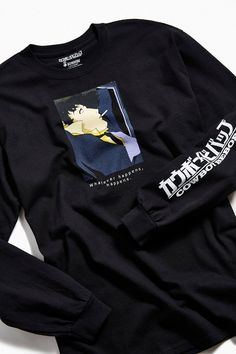 Shop Cowboy Bebop Whatever Happens Long Sleeve Tee at Urban Outfitters today. We carry all the latest styles, colors and brands for you to choose from right here. Anime Inspired Outfits, Anime Outfits, Cool Outfits, Japan Outfits, Fashion Outfits, Fasion, Blue Exorcist, Cowboy Bebop Shirt, Inu Yasha