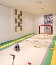 Play area in the basement, could be for kids could be for adults. Basement ideas