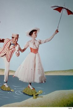 Mary Poppins makes me think of spring...