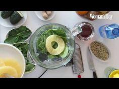 Isasaweis prepara su receta de smoothie verde - YouTube