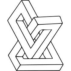 Stickers Figure géométrique