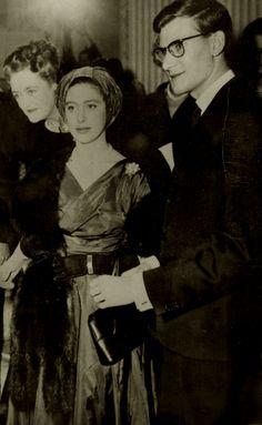 Princess Margaret of Great Britain and designer Yves Saint Laurent