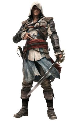 Edward Kenway - Pictures & Characters Art - Assassin's Creed IV: Black Flag