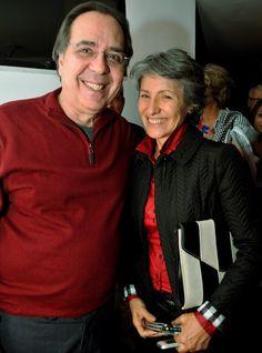 Edu Lobo e Cassia Kiss - Show Edu Lobo, Abril ,2013 - Foto Cristina Granato <3 <3