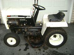 Vintage FMC Bolens G 10  Model No- 1055. Tractor with 3 blade Mower. #Bolens