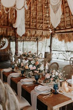 Tulum Beach Boho Wedding of our Dreams ⋆ Ruffled Tulum Beach Boho Wedding of our Dreams ⋆ Ruffled,Oui, Cherie! Das Hochzeitsevent Tulum Beach Boho Wedding of our Dreams Boho Beach Wedding, Beach Wedding Reception, Beach Wedding Flowers, Wedding Table, Elegant Wedding, Rustic Wedding, Trendy Wedding, Spring Wedding, Wedding Ceremony