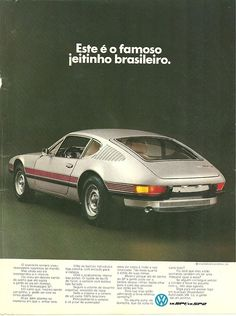#brazillian #VW #SP2 #car  Would expect the #rear to be a little more #full since it's from #Brazil  #LetsGetWordy