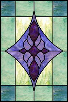 Decorative Glass Window Film | Caviglia-A Stained Glass Decorative Window Film and Graphics Clings