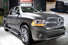 Chrysler also had its new 2013-MY Ram 1500 at the show. The Ram 1500 features a more powerful 3.6L V-6 engine. - Automotive Fleet Magazine - www.automotive-fleet.com #fleet
