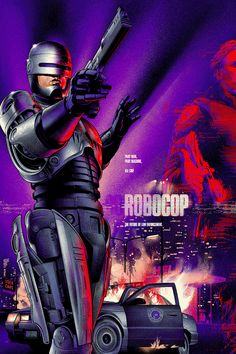 Martin Ansin's Awesome 'Robocop' poster