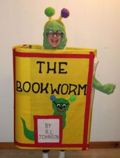 Image result for bookworm halloween costume
