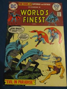 World's Finest #222 with Superman & Batman, VF- Condition!
