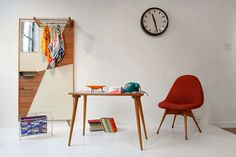 """Wojna i Pokój"" ""War & Peace"" 2014 Exhibition, Wroclaw, Poland Furniture Sale, Discount Furniture, Furniture Design, Modernism, Mid Century Design, Midcentury Modern, Desk, Retro, Poland"