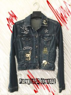 Jacket sold at: www.punkyardvintage.etsy.com