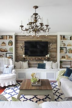 17+ Incredible Farmhouse Living Room Ideas. I Think You Should See These!! :)