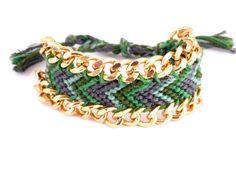 bracelet brésilien ou friendship dans les tons de par vicetleo, €35,00