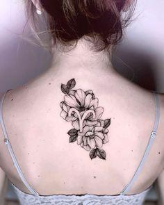Aries floral symbol tattoo by @medusenoire_tattoo Aries Symbol Tattoos, Aries Zodiac Tattoos, Ram Tattoo, Ankle Tattoo, Bone Tattoos, Star Tattoos, Girl Tattoos, Sleeve Tattoos, Tatoos