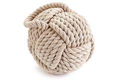 """6"""" Rope Knot Door Stop on OneKingsLane.com  ($10)"""