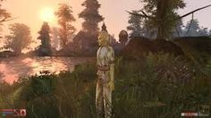 Should I see what the / sun offers? Or should I stay / this side of the bridge? -christiestratos #haiku #morrowind #elderscrolls