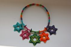 LaGrif Bijoux Geometrie e altre creazioni by Maria Cristina Grifone. Collana Stelle. Design by LaGrif. Handmade by LaGrif