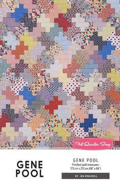 Gene Pool Quilt PatternJen Kingwell Designs #JKD-5194 - Quilt Patterns | Fat Quarter Shop
