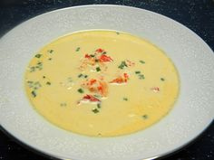 Tyler Florence's lobster bisque recipe