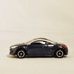 TAKARA TOMY TOMICA Street Car Europe Sport Car Auto PEUGEOT RZ (No. 84) Vehicle Diecast Metal Black Color