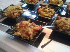 """""""Cous cous alla trapanese, ricetta originale con metodo tradizionale"""", la ricetta di Daniela del blog """"Gustorie"""" http://gustorie.blogspot.it/2014/07/cous-cous-alla-trapanese.html"""