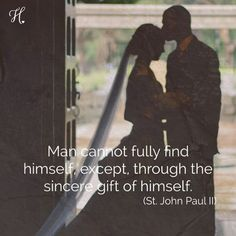 """Unlike friendship, marriage is honored as a sacrament as it is a picture of…"