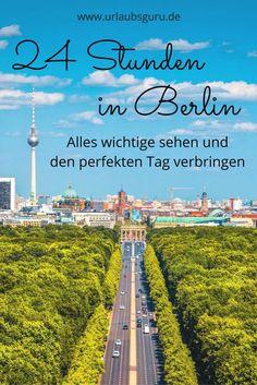 Ihr habt nur 24 Stunden Zeit in Berlin? Überhaupt kein Problem, denn mit diesen Tipps seht ihr trotzdem das wichtigste und erlebt den perfekten Tag in Berlin.