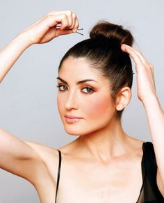 For less stressful mornings. How to wake up with beautiful hair. Good article!!!