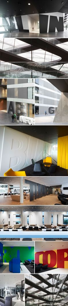 adidas laces r&d building | typography