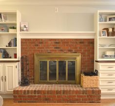 Tattered And Inked Updating Your Fireplace Without