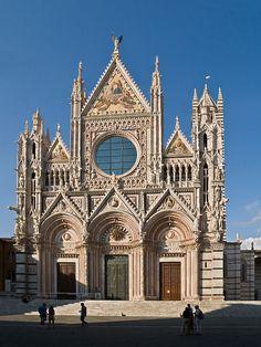 * Catedral de Siena * # Siena, Itália.