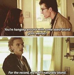 The Mortal Instruments: City of Bones Jace Wayland, King of Sass everyone.