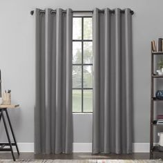 Grey Curtains, Grommet Curtains, Colorful Curtains, Window Curtains, Light Blocking Curtains, Blackout Windows, Panel Bed, Mavis, Herringbone Pattern