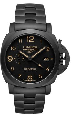Discover a large selection of Panerai Luminor 1950 3 Days GMT Automatic watches on - the worldwide marketplace for luxury watches. Compare all Panerai Luminor 1950 3 Days GMT Automatic watches ✓ Buy safely & securely ✓ Men's Watches, Panerai Watches, Luxury Watches, Fashion Watches, Cool Watches, Fashion Men, Ladies Watches, Men Accessories, Men Watches
