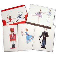 Main Characters Assorted Note Card Set