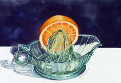 Joyce Faulknor Watercolor Paintings