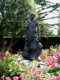 Statue of Princess Grace in the Rose Garden, Monaco