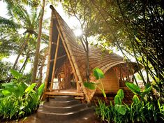 """BBC Boracay says; """" Would be a lovely little guest cottage. Native materials blend in the lush green with harmony."""""""