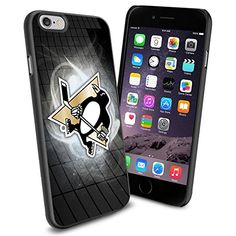 NHL Pittsburgh Penguins Logo, Cool iPhone 6 Case Cover Collector iPhone TPU Rubber Case Black Phoneaholic http://www.amazon.com/dp/B00TM22VZY/ref=cm_sw_r_pi_dp_eebmvb0P8HFR2