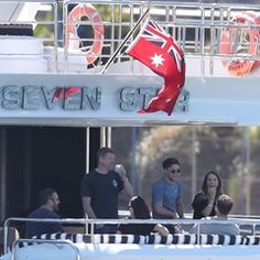 EXCLUSIVE Niall Horan spotted chatting up girls on Super yacht Seven Star on Sydney Harbour