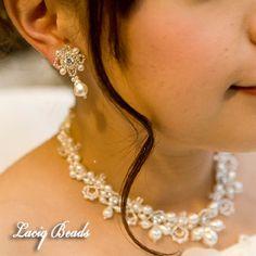 ミナ☆様より ウエディング・ブライダルビーズアクセサリー手作りキット・完成品通信販売【Laciq Beads~ラシクビーズ~】