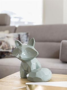 Our best selling item is definitely object Fox from COCO maison! Living With Dogs, White Wood, Dog Art, I Love Dogs, Sweet Home, New Homes, Cute, Room Ideas, Fox