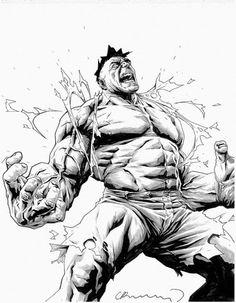 #Hulk #Fan #Art. (Hulk) By: Lee Bermejo. (THE * 5 * STÅR * ÅWARD * OF: * AW YEAH, IT'S MAJOR ÅWESOMENESS!!!™)[THANK Ü 4 PINNING!!!<·><]<©>ÅÅÅ+(OB4E)